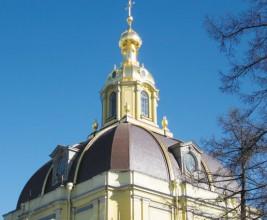 100 лет сланцевой кровли. Реконструкция купола великокняжеской усыпальницы в Петропавлоской крепости Санкт-Петербурга