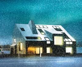 «Активный» дом в 20 км от МКАД