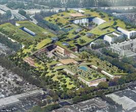 В Кремниевой долине построят самую большую пешеходную крышу в мире