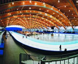 «Овал»: деревоклееные конструкции уникального стадиона в Ванкувере