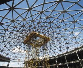 Московский Vegas. Гигантские стеклянные купола над столицей торговли