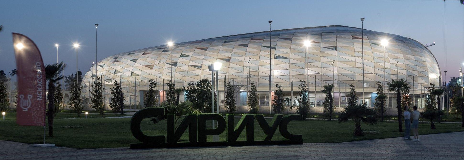 Крыша одного из корпусов сочинского «Сириуса» представлена на Конкурс IFD